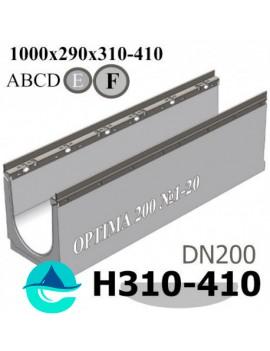 OPTIMA DN200 лоток бетонный водоотводный с уклоном