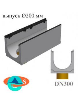 BGZ-S DN300 лотки бетонные водоотводные с вертикальным водосливом