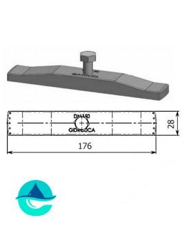 DN150 крепеж для пластикового лотка