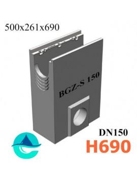 DN150 BGZ-S пескоуловитель бетонный