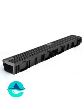Light ЛВ-10.11,5.9,5- лоток пластиковый водоотводный с пластиковой щелевой решеткой