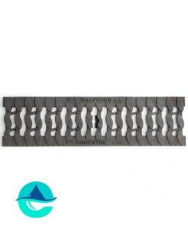 DN100 D400 «Косичка» решетка чугунная щелевая