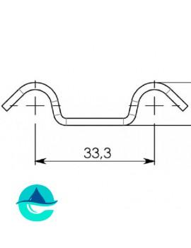 Крепеж Gidrolica DN300 стальной