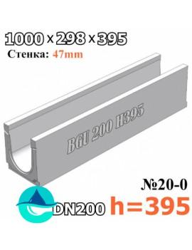 BGU DN200 H395 № 20-0 лоток бетонный водоотводный