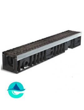 Profi Plastik DN100 H138 лоток пластиковый водоотводный усиленный