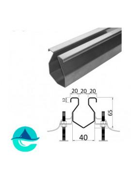 А60/40 щелевой лоток из нержавеющей стали