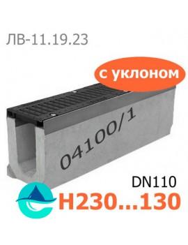 Maxi DN110 лоток бетонный водоотводный с уклоном