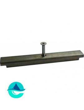 DN200 стальной фиксатор для пластиковых лотков