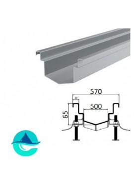 А500 (конусное дно) лоток из нержавеющей стали
