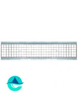 DN200 решетка стальная ячеистая оцинкованная