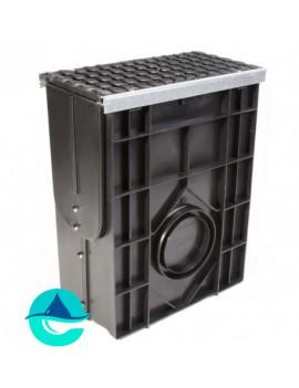 DN200 Profi Plastik пескоуловитель пластиковый усиленный с чугунной решеткой