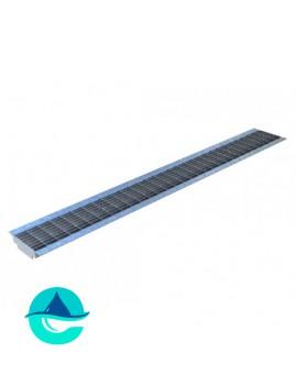 DN100 Basic решетка стальная ячеистая оцинкованная