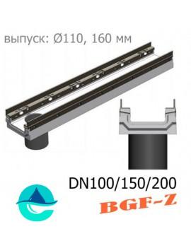 BGF-Z лотки бетонные водоотводные с вертикальным водоcливом