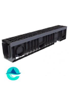 Profi Plastik DN100 H200 лоток пластиковый водоотводный усиленный