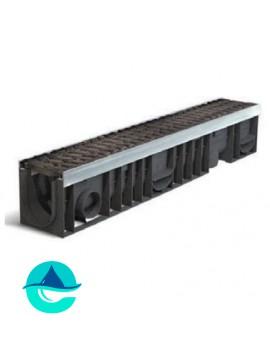 Profi Plastik DN100 H170 лоток пластиковый водоотводный усиленный