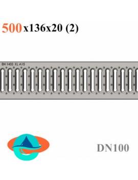 РВ -10.13,6.50 - решетка водоприемная штампованная стальная оцинкованная