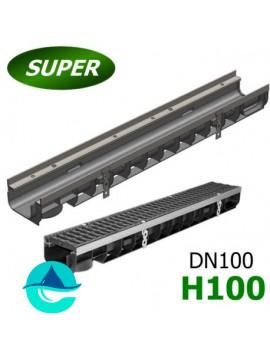 Gidrolica Super ЛВ-10.14,5.10 лоток пластиковый водоотводный