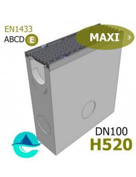 DN100 H520 MAXI пескоуловитель бетонный