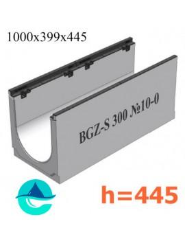 BGZ-S DN300 H445, № 10-0 лоток бетонный водоотводный