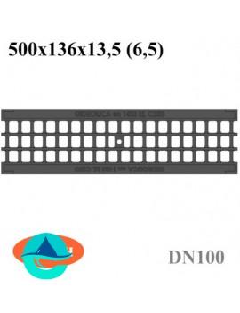 РВ-10.13,6.50 - решетка водоприемная ячеистая чугунная Gidrolica