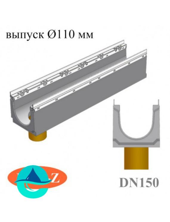 BGU-Z DN150 лотки бетонные водоотводные с вертикальным водосливом