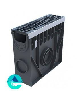 DN100 PolyMax Drive пескоуловитель пластиковый усиленный с чугунной решеткой