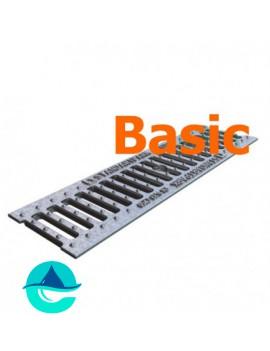 DN100 Basic решетка оцинкованная чугунная щелевая
