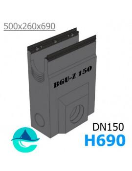 DN150 BGU-Z пескоуловитель бетонный