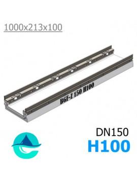 BGF-Z DN150 H100 лоток бетонный водоотводный