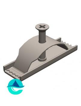 DN100 крепеж для лотка водоотводного бетонного