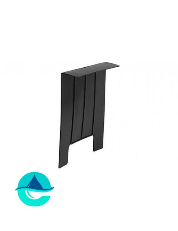 Перегородка-сифон для дождеприемника 400х400 пластиковая