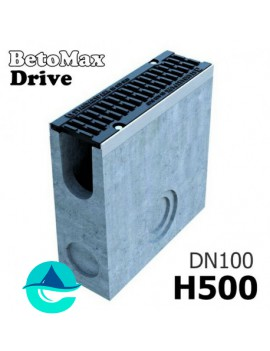 DN100 H500 BetoMax Drive пескоуловитель бетонный с решеткой, кл. D
