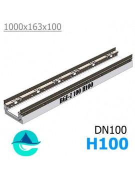 BGF-Z DN100 H100 лоток бетонный водоотводный