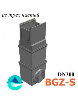 DN300 BGZ-S пескоуловитель бетонный многосекционный