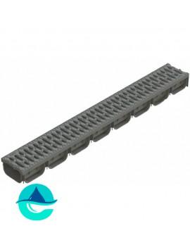 Spark DN100 H70 серый c пластиковой решеткой