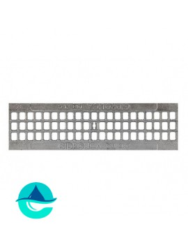 РВ-10.13,6.50 решетка оцинкованная ячеистая чугунная