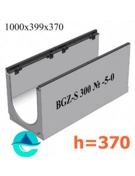 BGZ-S DN300 H370, № -5-0 лоток бетонный водоотводный