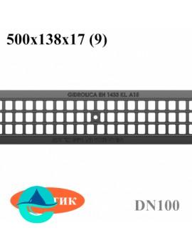 РВ-10.13,6.50 решетка пластиковая ячеистая водоприемная