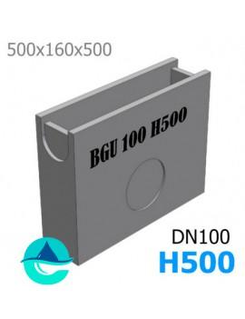 BGU 500/158/500 пескоуловитель бетонный