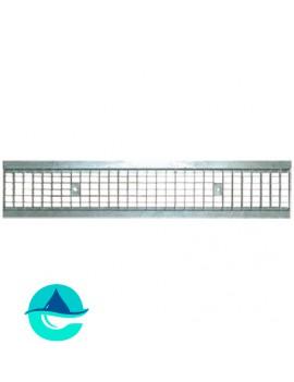 DN150 решетка стальная ячеистая оцинкованная