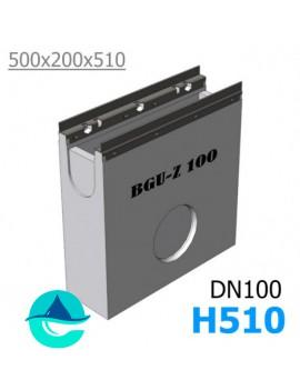 DN100 BGU-Z пескоуловитель бетонный