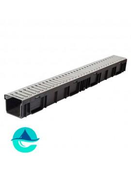 Light ЛВ-10.11,5.9,5- лоток пластиковый водоотводный со стальной решеткой