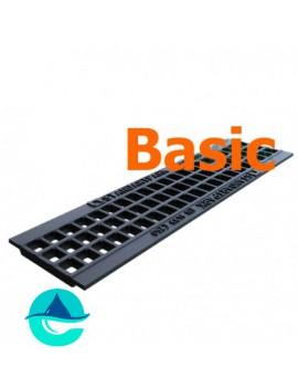 DN100 Basic решетка чугунная водоприемная ячеистая