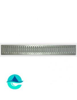 DN100 Basic решетка штампованная стальная оцинкованная (без отверстий)
