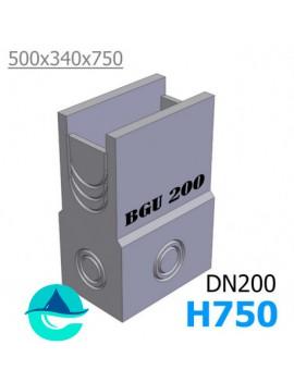 DN200 BGU 500/340/750 пескоуловитель бетонный