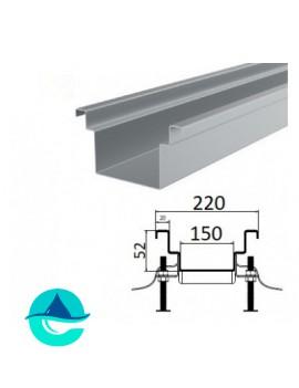 А150 (плоское дно) лоток из нержавеющей стали