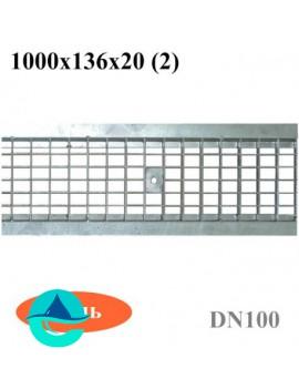 РВ -10.13,6.100 -решетка водоприемная ячеистая стальная