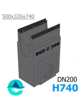 DN200 BGU-Z пескоуловитель бетонный
