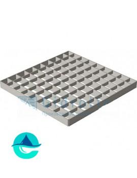 Решетка водоприемная к дождеприемнику РВ-28,5.28,5 ячеистая стальная