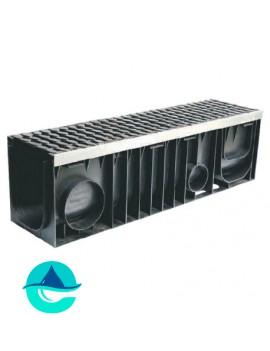 Profi Plastik DN200 H297 лоток пластиковый водоотводный усиленный